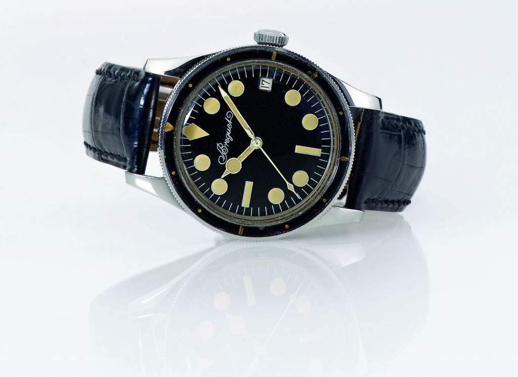 le monde edmond a hyper rare vintage breguet diving watch. Black Bedroom Furniture Sets. Home Design Ideas