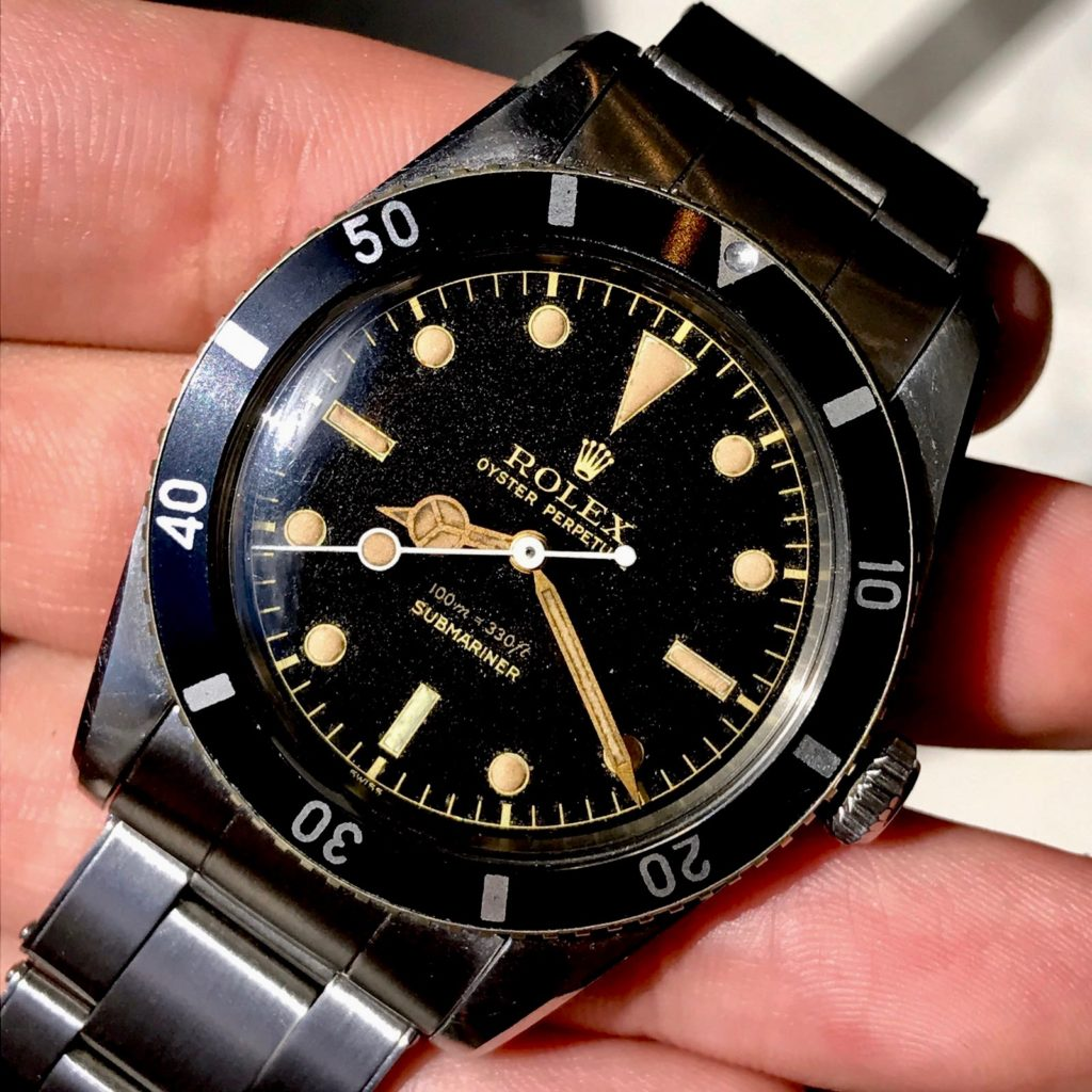 A study of three 1950s Rolex Submariner 6536-1